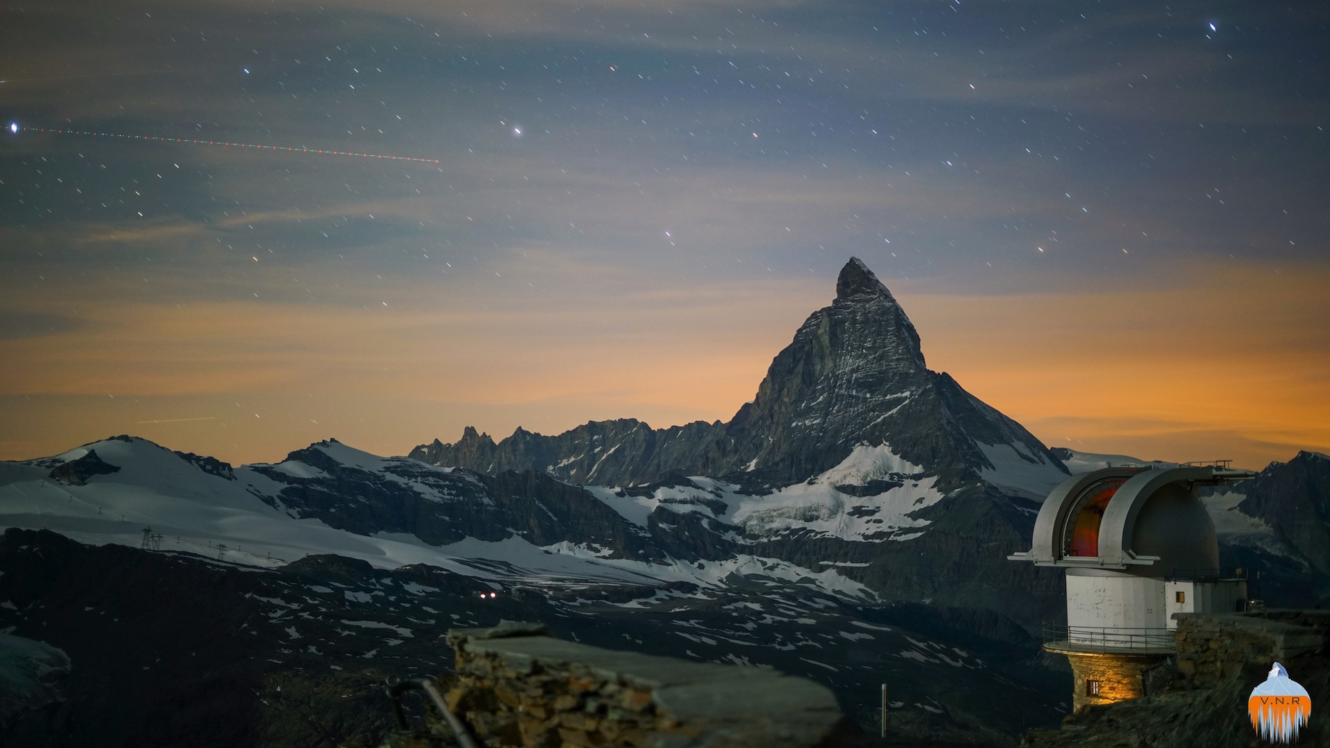 Matterhorn Summer Night