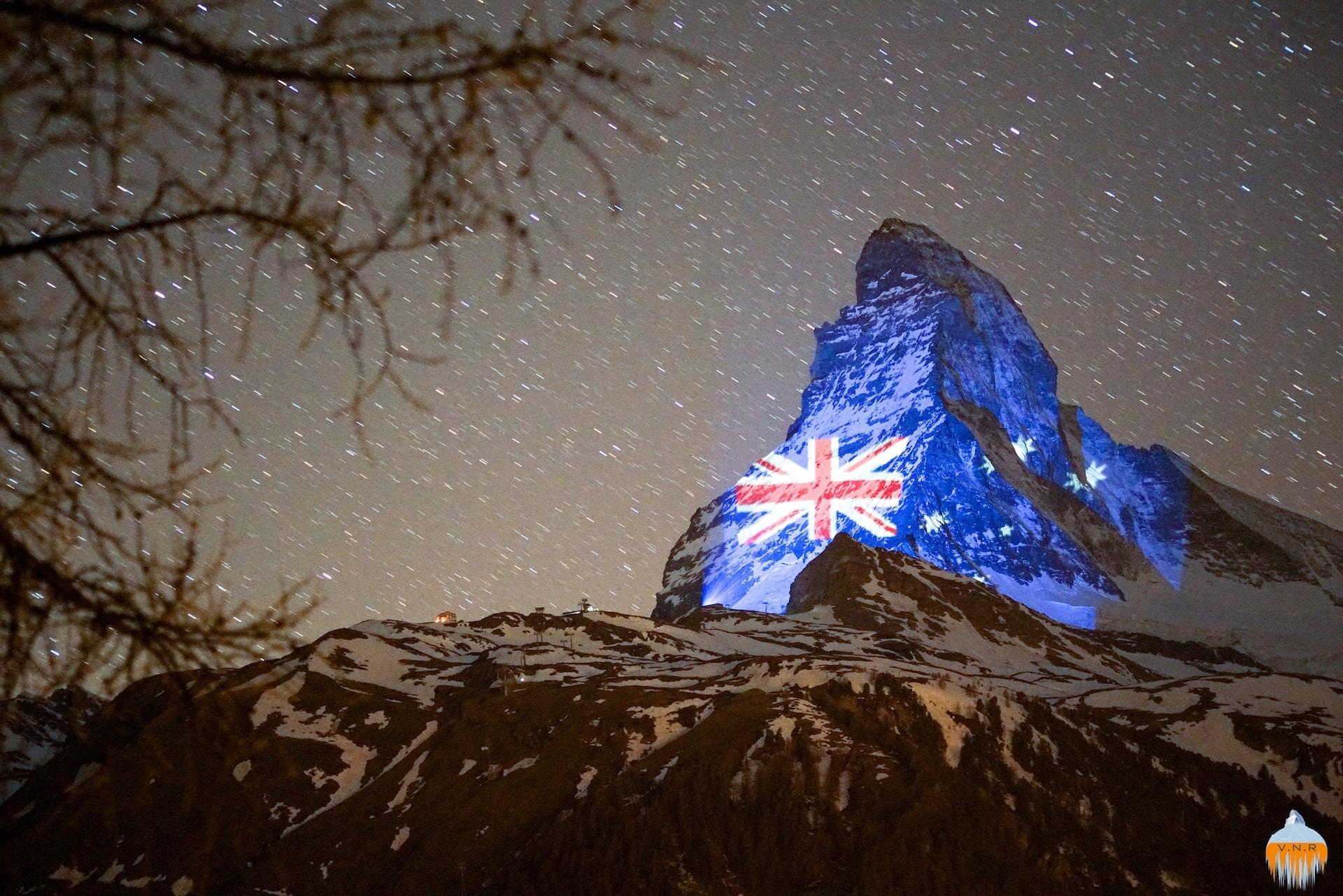 Matterhorn Australian Flag
